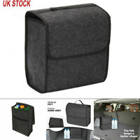 Car Boot Organiser Large Carpet Storage Bag Tools Travel Tidy Hook Loop Case