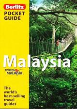 MALAYSIA - POCKET GUIDE - BERLITZ  BEST-SELLING TRAVEL BOOKS ALMOST NEW CONDITIO