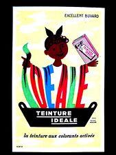 Ancien Buvard Teinture Idéale pour tissus d'après Hervé Morvan