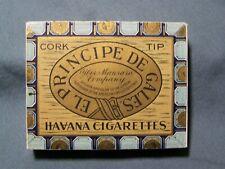 Nice Vintage El Principe De Gales Cigarette Pack  circa 1910 EMPTY NO TOBACCO