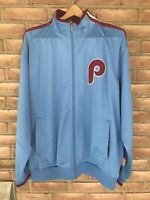 Philadelphia Phillies Majestic Cooperstown Collection Men's Size XL Jacket