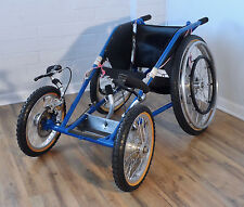 COBRA off-road, all-terrain racing wheelchair - tilite permobil trax x850