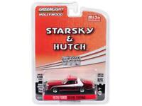 1976 Ford Gran Torino Chrome Red Edition Starsky & Hutch (1975-1979) TV Series L