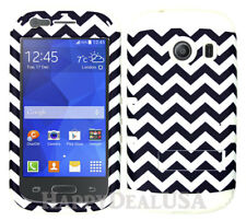 For Samsung Galaxy Ace Style S765c - KoolKase Hybrid Cover Case - Chevron 98