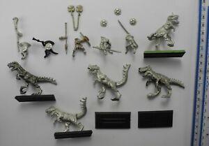 5 TICHI HUICHI SKINK COLD ONE RIDERS Metal Dogs of War Lizardmen Seraphon 90s 95