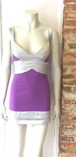 DIVA CORSETS LILAC & SILVER PARTY DRESS  SIZE S / 8