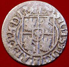 1621 Poland Medieval  Sigismund III 1/24 Thaler Silver