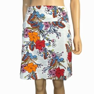 NWOT Swing Control Japanese Ace Floral Stretch Golf Skort Size 16 Skirt Womens