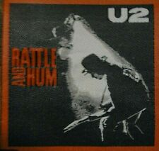 "U2 ""Rattle And Hum"" Photo Embroidered Patch- New"