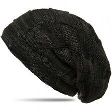 CASPAR Damen Herren Beanie Winter Mütze warm gefüttert mit Flecht Muster