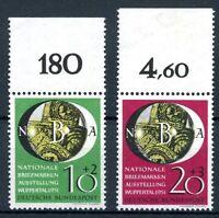 Bund MiNr. 141-42 postfrisch MNH Oberrand (H505