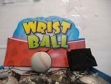 Wrist band ball return rubber baseball on nylon string