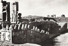 1934 Vintage 11x14 IRAN Perserreich Persepolis Ruins Architecture Landscape Art