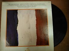 """33 RPM Vinyl """"Les Favorites"""" French Overtures Westminster Gold WGS8331  031115SM"""