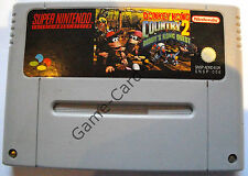 SNES - DONKEY KONG COUNTRY 2 - DIDDY'S KONG QUEST - nur MODUL - gebraucht
