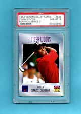 1996 Sports Illustrated SI for Kids SI #536 Tiger Woods rookie PSA 8 FREE Ship
