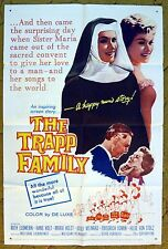 """""""THE TRAPP FAMILY"""" this timeless Love Story & great Music - movie poster"""