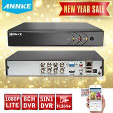 ANNKE 8CH 1080P Lite 5IN1 Security DVR Home CCTV Surveillance System H.264+ HDMI