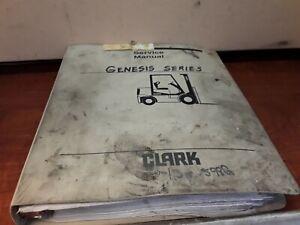 Clark Genesis Series SM-598G Service Manual