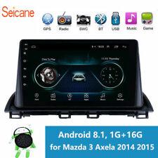 """9"""" Mazda 3 Axela 2014 2015 Android 8.1 Bluetooth GPS Navi Radio Car Stereo"""