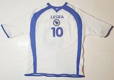 Bosnia Herzegovina National Soccer Football Jersey Shirt White Blue Mens Medium