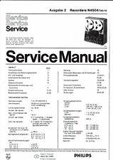 Philips  service manual  für N 4504 Ausgabe 2  deutsch