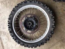 "19"" REAR RIM 88 89 Yamaha yz125 125 yz250 250 wheel tire hub Sprocket 1988 1989"