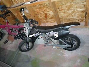 Rarely Used- Very Well taken care of- Razor Electric Dirt Bike MX350