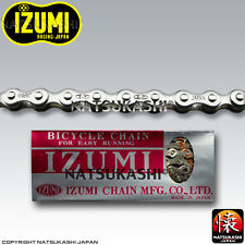 Izumi Chain Silver 1/2 x 1/8 x 96 Links Old School BMX
