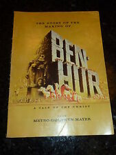 BEN-HUR - The story of the making - From METRO-GOLDWYM-MAYER - Random House Book