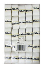 WILSON PRO OVERGRIP BLANCO PARA TENIS, PADEL pack of 25 grip, free 48 hr orugas