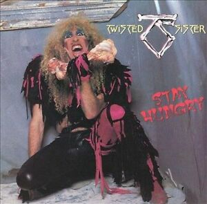 TWISTED SISTER Stay Hungry CD 1984 BRAND NEW