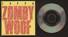 """MINI CD 3"""" ZAPPA ZOMBY WOOF / YOU DIDN'T TRY TO CALL ME LIVE RECORDED MADE IN US"""