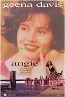ANGIE MOVIE POSTER 27x40 GEENA DAVIS 1994 ROMANCE COMEDY