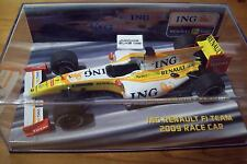 1/43 RENAULT 2009 Voiture De Course ING Boxed Fernando Alonso