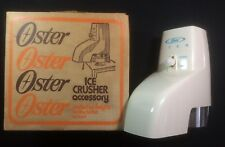 Oster Ice Crusher Accessory #435 - vintage never used w/ original box and papers