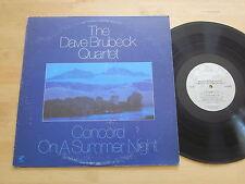 Dave Brubeck - Concord On a Summer Night LP Bill Smith Chris Brubeck Randy Jones