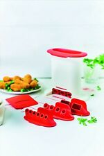 Tupperware® Gnocchi Party ** M-Press ** Croquetera ** 4 Inserts ** NEW **