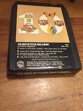 The Best Of Peter, Paul & Mary / 10 Years Together 1970-8 Track Tape