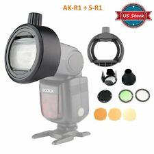 Godox H200R Round Head Adapter S-R1+ Ak-R1 Accessories For V860Ii Tt685 Tt600 Us