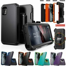 For Samsung Galaxy A51 A71 4G Armor Case Cover+Belt Clip Fits Otterbox Defender