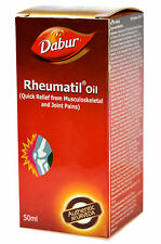 50 ml Dabur Herbal Rheumatil Oil For Relief From Musculoskeletal & Joint Pains