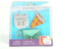 Journey Girls Purse Collection (Kitty + Pizza) Toys R Us Exclusive Bundle NEW