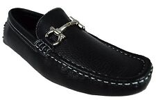 MEN GIOVANNI  DRESS SHOES LOAFER CASUAL ITALIAN SLIP-ON MEDIUM (D,M) SOLID M9538