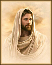CHRISTIAN ART: JESUS CHRIST PORTRAIT 8 X 10 PHOTO