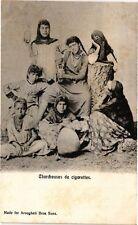 CPA Egypte  - Chercheuses de cigarettes (212892)