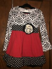 Boutique Red, Black, & White Set Nwt Size 2T