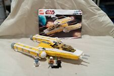 Lego Star Wars The Clone Wars Anakin's Y-wing Starfighter (8037) 100% COMPLETE
