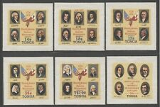Tonga 1976 American Bicentennial set Sc# 377/CO110 NH