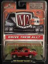 M2 Machines Detroit Muscle 1966 Chevy Corvette 427 krg0496